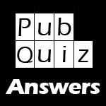 Last month's Pub Quiz Questions