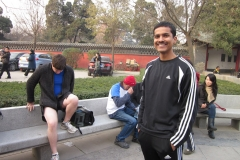 201012 - Xinqing park run - goodbye to The Great Wali - Dec 2010