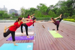 201506 - Ayatana Sunrise Yoga - June 2015