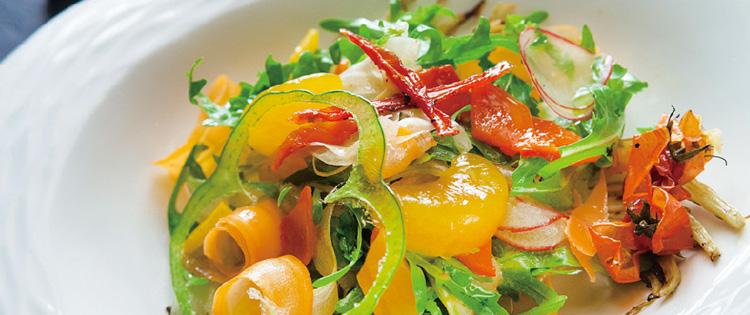 Garden Vegetable Salad 花园绿色蔬菜