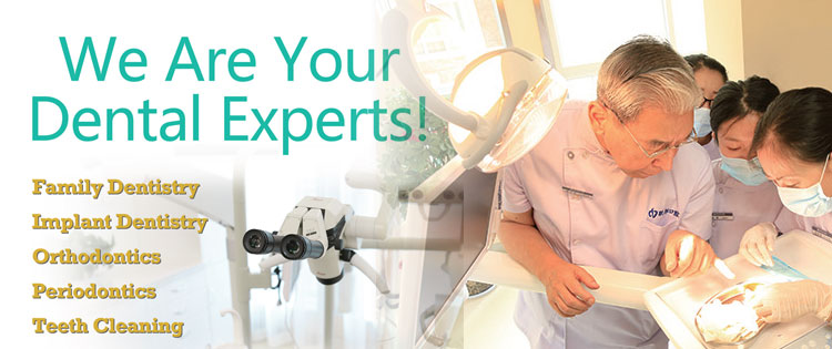 We are your dental experts