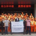 Novotel Celebrate The Mid-autumn Festival With Sanitation Workers