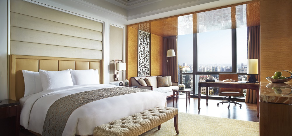 中式简约风格的客房 Deluxe King Room