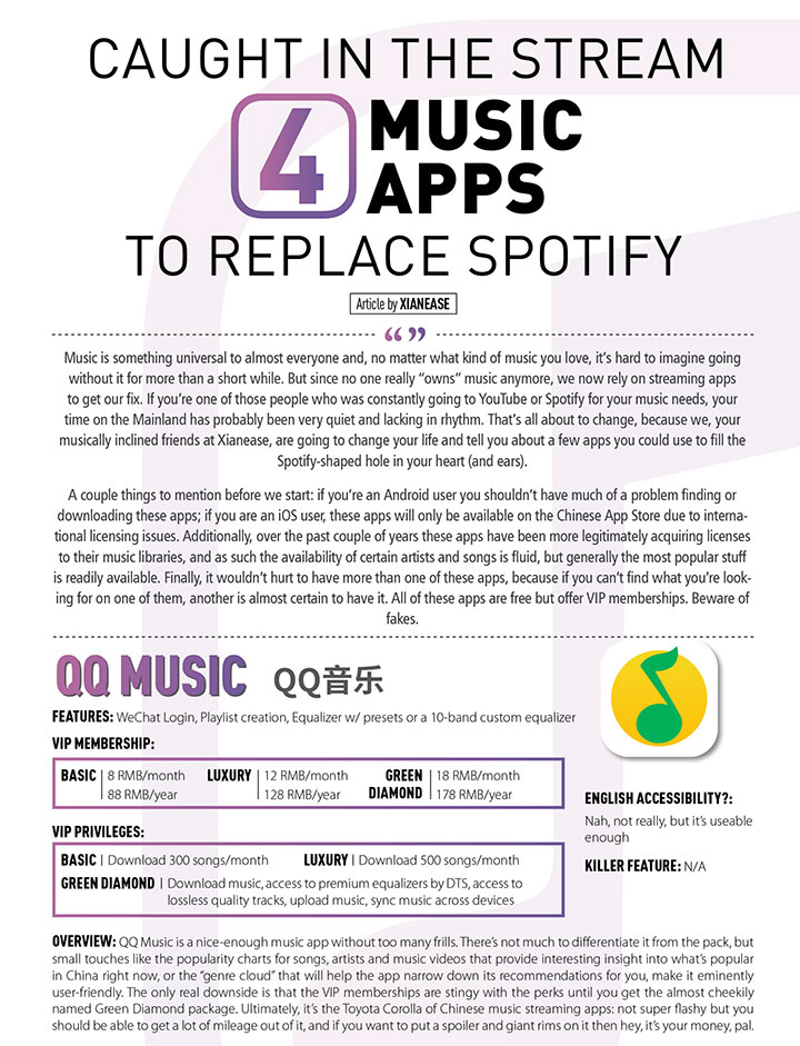 Caught in the Stream 4 Music APP to Replace Spotify – Xianease
