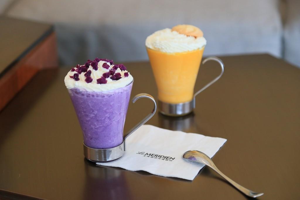 紫薯&南瓜拿铁